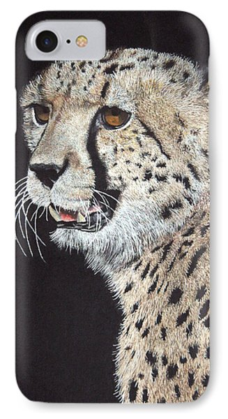 Cheetah Glory Phone Case by John Hebb