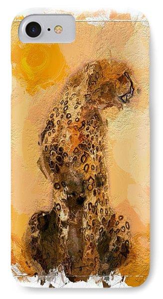 Cheetah IPhone Case by Steve K