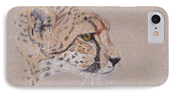Cheetah IPhone Case by Stephanie Grant