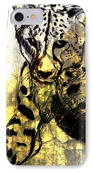 Cheetah-the Jungle Bullet IPhone Case by Shokeen Kalyan