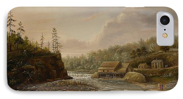 Cheevers Mill On The St. Croix River Phone Case by Henry Lewis