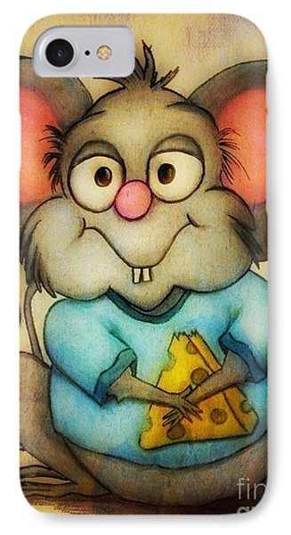 Cheeze  IPhone Case by Vickie Scarlett-Fisher