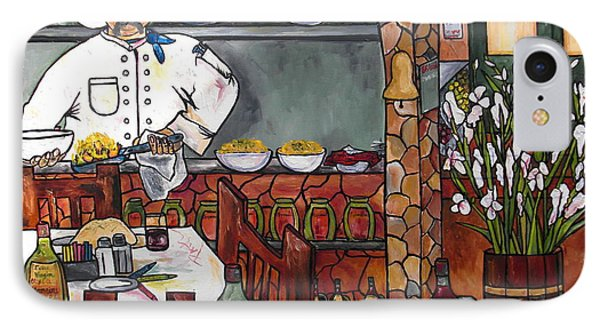 Chef On Line Phone Case by Patti Schermerhorn