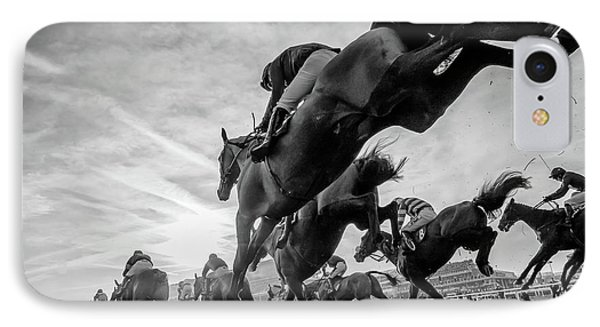 Cheltenham Jumps Festival IPhone Case