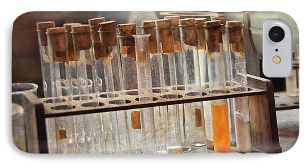 Chemist - Specimen Phone Case by Mike Savad