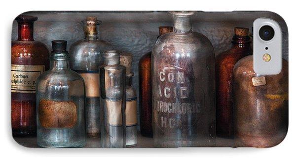 Chemist - Things That Burn Phone Case by Mike Savad