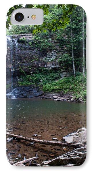 Cherokee Falls IPhone Case by Rebecca Hiatt