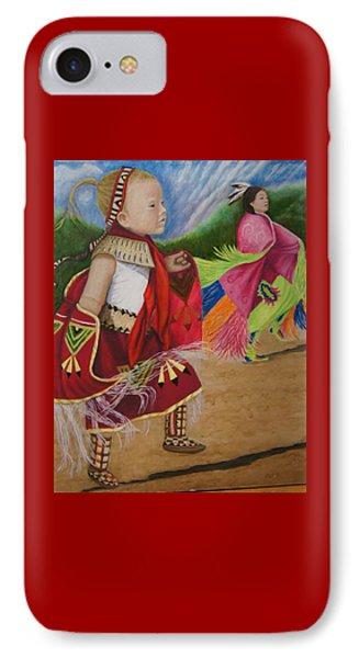 Cherokee Ribbon Dancers IPhone Case