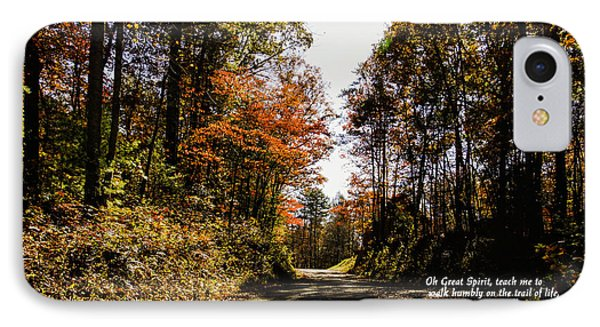 Cherokee Trail IPhone Case by Marilyn Carlyle Greiner