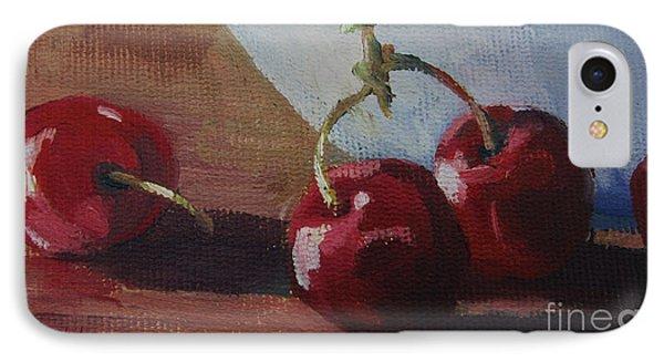 Cherries 2 IPhone Case by John Clark