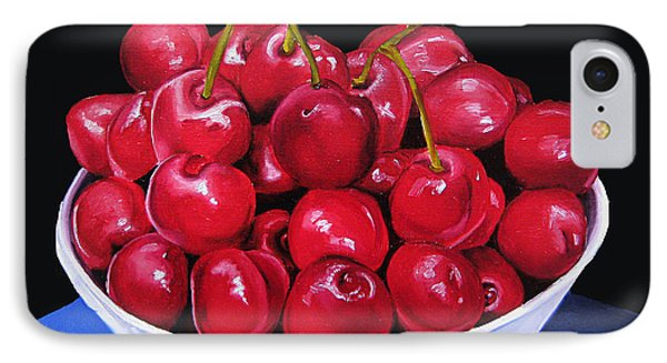 Cherries II IPhone Case by Dawnstarstudios