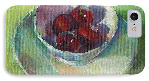Cherries In A Cup #2 IPhone Case by Svetlana Novikova