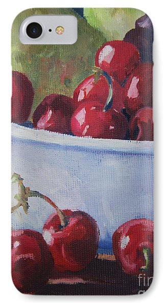 Cherries Phone Case by John Clark