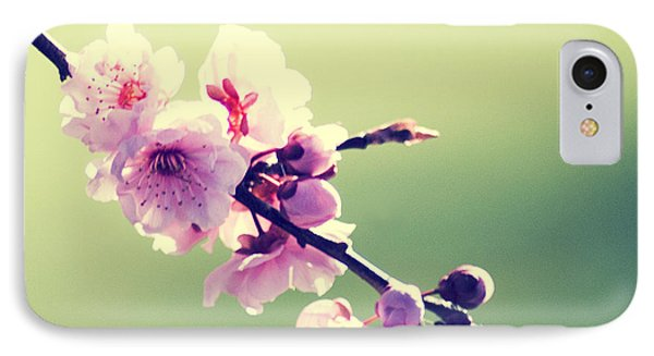 IPhone Case featuring the photograph Cherry Blooms by Yulia Kazansky
