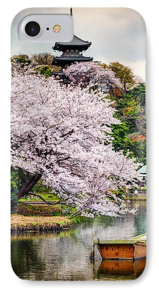 Cherry Blossom 2014 IPhone Case by John Swartz