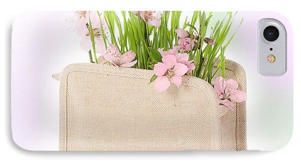 Cherry Blossom IPhone Case by Amanda Elwell