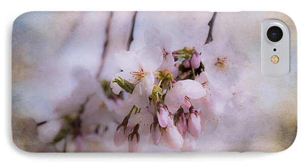 Cherry Blossom Dreams Phone Case by Terry Rowe