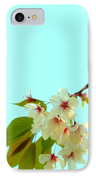 IPhone Case featuring the photograph Cherry Blossom Flowers by Rachel Mirror