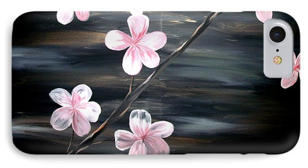 Cherry Blossom  Phone Case by Mark Moore