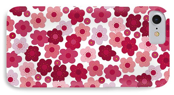 Cherry Blossom Pop IPhone Case by Sharon Turner