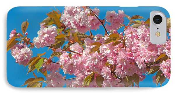 Cherry Blossoms 2 Phone Case by Sharon Talson