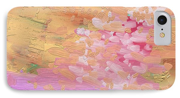 Cherry Blossoms By Pink River Phone Case by Naomi Jacobs