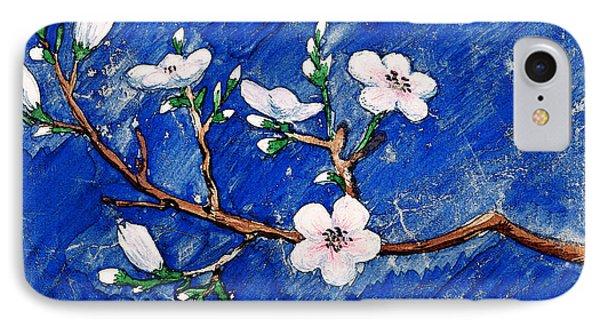 Cherry Blossoms IPhone Case by Irina Sztukowski