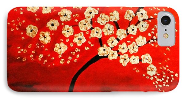 Cherry Blossoms Phone Case by Shelia Gallaher Chancey