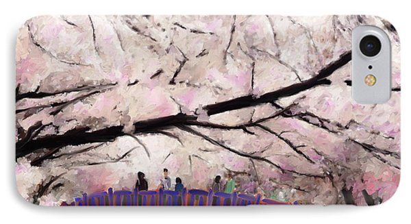 Cherry Blossoms Phone Case by Kume Bryant
