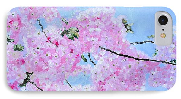 Cherry Blossoms Phone Case by Melissa Torres
