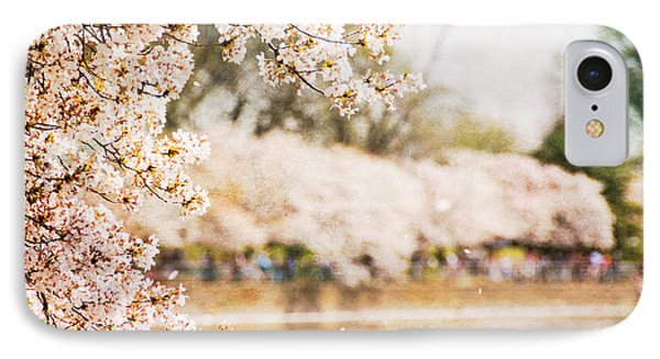 IPhone Case featuring the photograph Cherry Blossoms In Washington Dc by Vizual Studio