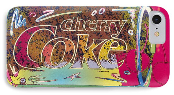 Cherry Coke 5 Phone Case by John Keaton