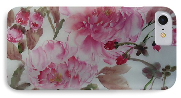 Cherry Flower54012-1 IPhone Case