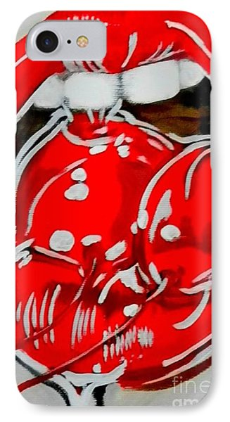 Cherry Lips IPhone Case by Marisela Mungia