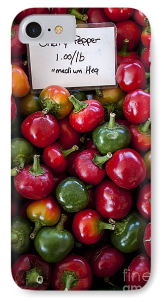 Cherry Peppers Phone Case by Janice Rae Pariza