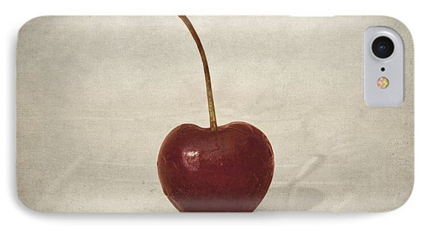 Cherry IPhone Case by Taylan Apukovska