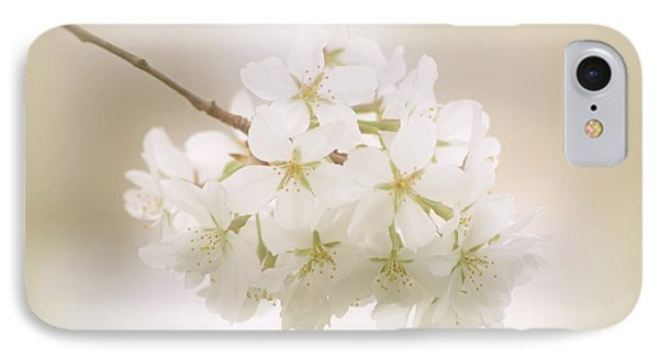 Cherry Tree Blossoms Phone Case by Sandy Keeton