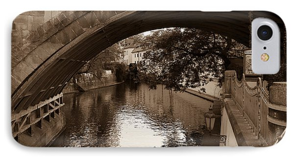 Chertovka River IPhone Case by Sergey Simanovsky