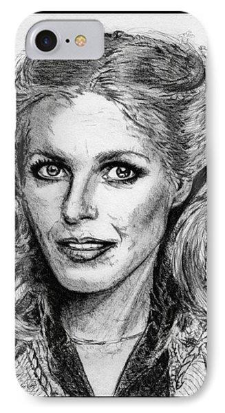 Cheryl Ladd In 1977 Phone Case by J McCombie