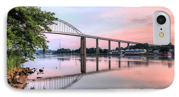 Chesapeake City Pastels IPhone Case by JC Findley