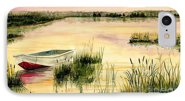 Chesapeake Marsh IPhone Case by Melly Terpening