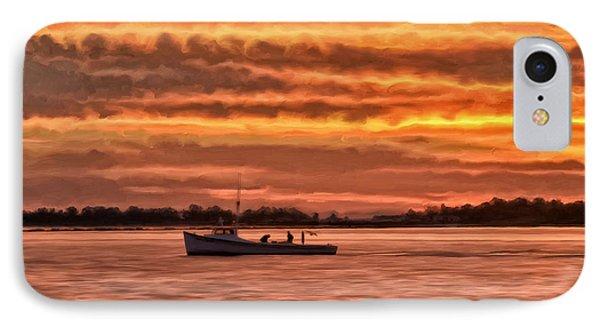 Chesapeake Watermen IPhone Case by Michael Pickett