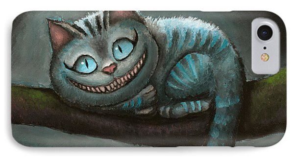 Cheshire Cat Phone Case by Eusebio Guerra