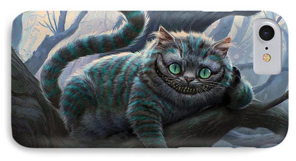 Cheshire Cat IPhone Case by Movie Poster Prints
