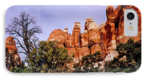 Chesler Park Pinnacles IPhone Case by Ed  Riche