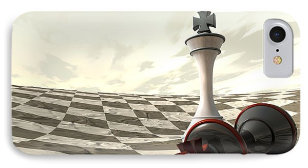 Chess Desert Game Over IPhone Case
