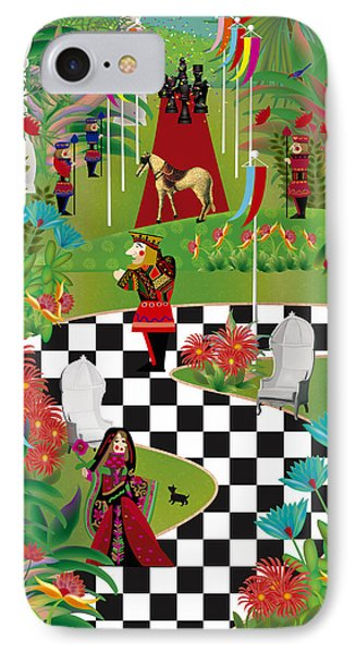 Chess Festival - Limited Edition 2 Of 20 IPhone Case by Gabriela Delgado