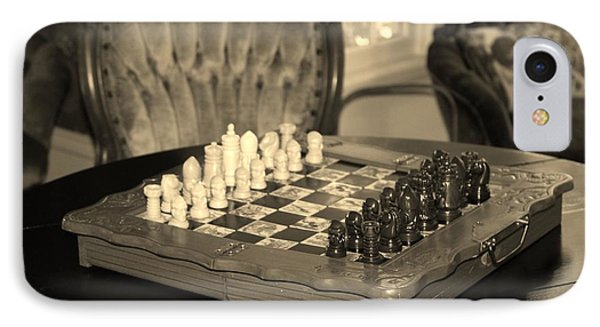 IPhone Case featuring the photograph Chess Game by Cynthia Guinn