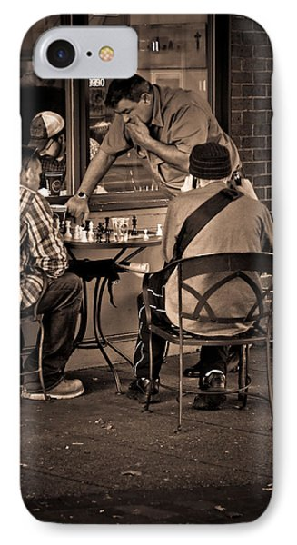 IPhone Case featuring the photograph Chess Game by Erin Kohlenberg