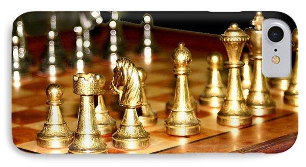 Chess Set  Phone Case by Diane Merkle
